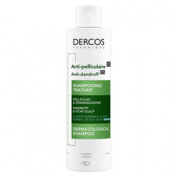 VICHY DERCOS SHAMPOOING ANTI-PELLICULAIRE CHEVEUX NORMAUX À