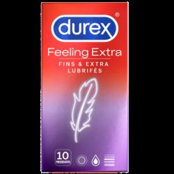 DUREX PRESERVATIF FEELING EXTRA - 10 préservatifs