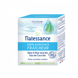 NATESSANCE Crème hydratante fraicheur 50ML