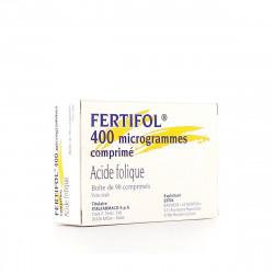 FERTIFOL 400 microgrammes, comprimé, boîte de 3 blisters de 30