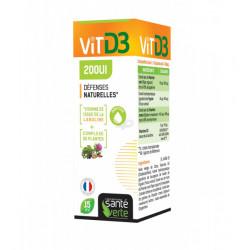 SANTE VERTE VITAMINE D3 200UI - 15 ml