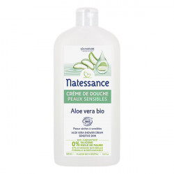 Natessance Crème De Douche Aloe Vera 500ml