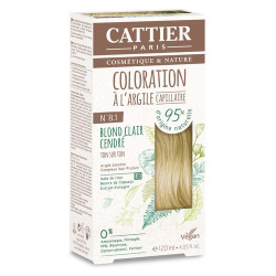 CATTIER Coloration 8.1 Blond Clair Cendré