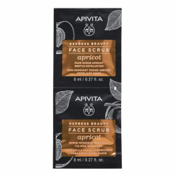 APIVITA GOMMAGE EXPRESS ABRICOT X 2