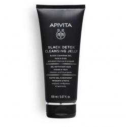 APIVITA GEL NETT BLACK DETOX - 150 ml
