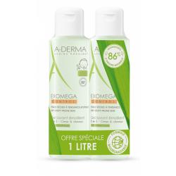 A-derma Exomega Control Gel Lavant Emollient Corps et Cheveux 2
