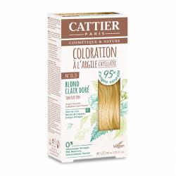 CATTIER COLORATION - 8.3 BLOND CLAIR DORÉ