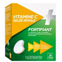 NUTRISANTE VITAMINE C + Gelée Royale - 24 Comprimés
