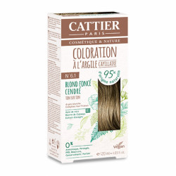 CATTIER COLORATION - N° 6.1 BLOND FONCÉ CENDRÉ