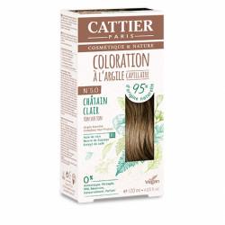 CATTIER COLORATION - N° 5.0 CHÂTAIN CLAIR