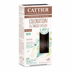 CATTIER COLORATION - N° 2.0 BRUN
