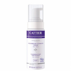 CATTIER MOUSSE NETTOYANTE VISAGE BIO - 150 ml