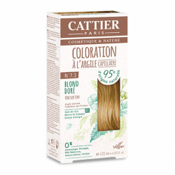 CATTIER COLORATION - N° 7.3 BLOND DORÉ