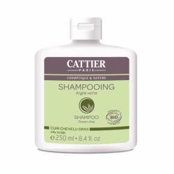 CATTIER SHAMPOOING ARGILE VERTE - 250 ml