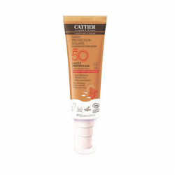 CATTIER SPRAY PROTECTION SOLAIRE SPF 50 - 125 ml