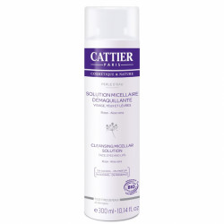 CATTIER PERLE D'EAU SOLUTION MICELLAIRE DÉMAQUILLANTE - 300 ml