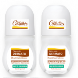 CAVAILLES DÉODORANT SOIN DERMATO - Roll-on Lot de 2x50ml - DÉO