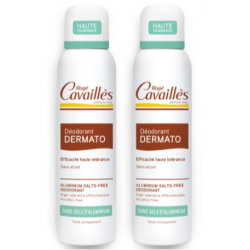 CAVAILLES DÉODORANT SOIN DERMATO - Spray Lot de 2x150ml - SANS