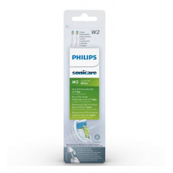 PHILIPS SONICARE OPTIM WHITE PACK DE TÊTES DE BROSSE x 2 BLANC