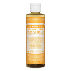 DR BRONNERS Savon Liquide Agrume, Orange - 240ml