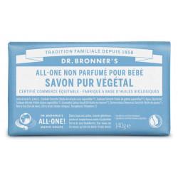 DR BRONNERS Pain De Savon Sans Parfum - 140G