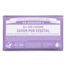 DR BRONNERS Pain De Savon Lavande - 140G