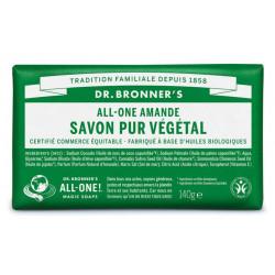 DR BRONNERS Pain De Savon Amande - 140G