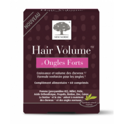 NEW NORDIC HAIR VOLUME & ONGLES FORTS - 60 Comprimés