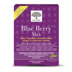 NEW NORDIC BLUE BERRY MAX - 60 Comprimés