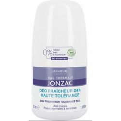 Eau de Jonzac Déo Fraicheur Haute Tolerance Bio 50 ml
