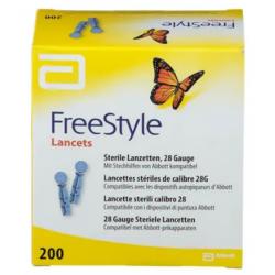 FREESTYLE LANCETS - 200 Lancettes