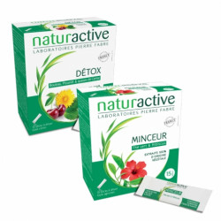 NATURACTIVE DETOX + MICEUR - Lot de 2x20 Sticks fluides