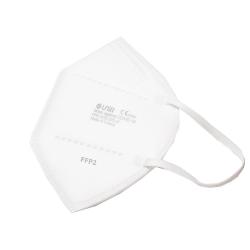 MASQUE FFP2 Blanc x10 Masques - Fabrication Française UNIR