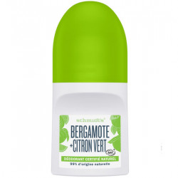 SCHMIDT'S DÉODORANT ROLL-ON - BERGAMOTE & CITRON VERT - 50 ml
