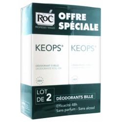 ROC KEOPS Déodorant à bille Lot de 2x30ml