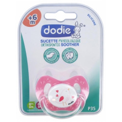 Dodie Sucette Physio Silic. 1 +6m Super Bebe