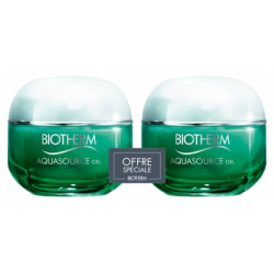 BIOTHERM AQUASOURCE GEL Soin hydratant peay normale à mixte lot