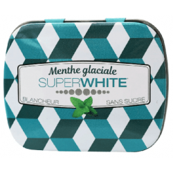 SUPERWHITE MINIMINTS MENTHE GLACIALE - 50 Pastilles