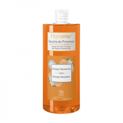 FLORAME GEL DOUCHE DE PROVENCE ORANGE-MANDARINE - 1 L