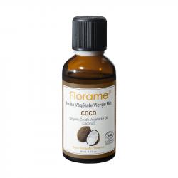 FLORAME HUILE VÉGÉTALE DE COCO BIO - 50 ml