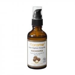 FLORAME HUILE VÉGÉTALE DE MACADAMIA BIO - 50 ml