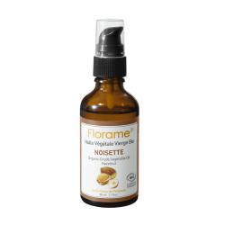 FLORAME HUILE VÉGÉTALE DE NOISETTE BIO - 50 ml