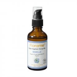 FLORAME HUILE VÉGÉTALE DE NIGELLE BIO - 50 ml