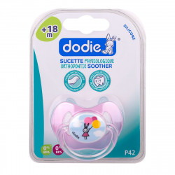 DODIE Sucette Physio Silic. 1 +18m Lapin