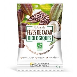 COMPTOIRS ET COMPAGNIES FEVE CACAO - 30 g