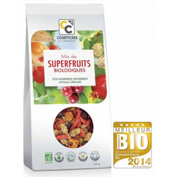 COMPTOIRS ET COMPAGNIES MIX DE SUPERFRUITS BIO - 125 g