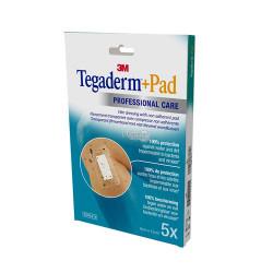 TEGADERM + PAD Pansement Transparent Stérile 9CMX15CM - 5