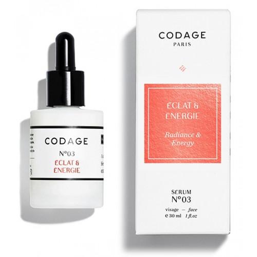 CODAGE SERUM N°3 ÉCLAT & ÉNERGIE - 30 ml