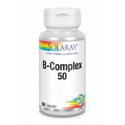 SOLARAY B – COMPLEX - 50 Capsules