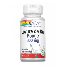 SOLARAY LEVURE DE RIZ ROUGE - 45 Vega Caps
